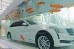 Cadillac põe carro de luxo em aquário gigante na China