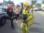 Bombeiros resgatam aquário de incêndio na Austrália